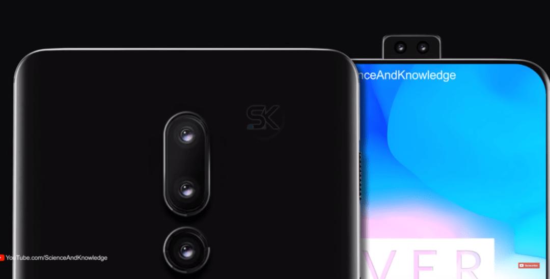Nya konceptbilder på OnePlus 6T