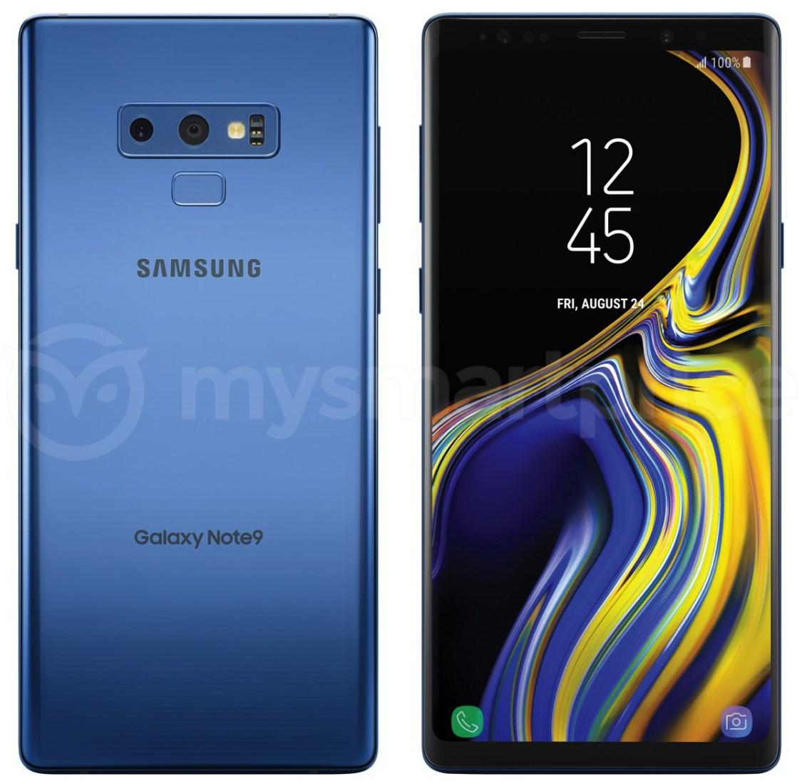 Rykte: Samsung Galaxy Note 9 på butikshyllan 24:e augusti