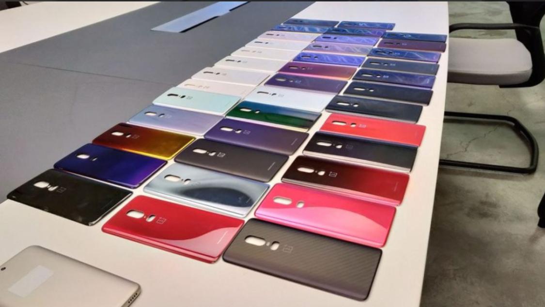 OnePlus 6 kunde ha släppts i en mängd färger