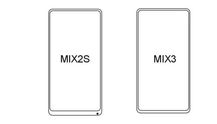 Nya bilder publiceras på Xiaomi Mi Mix 3