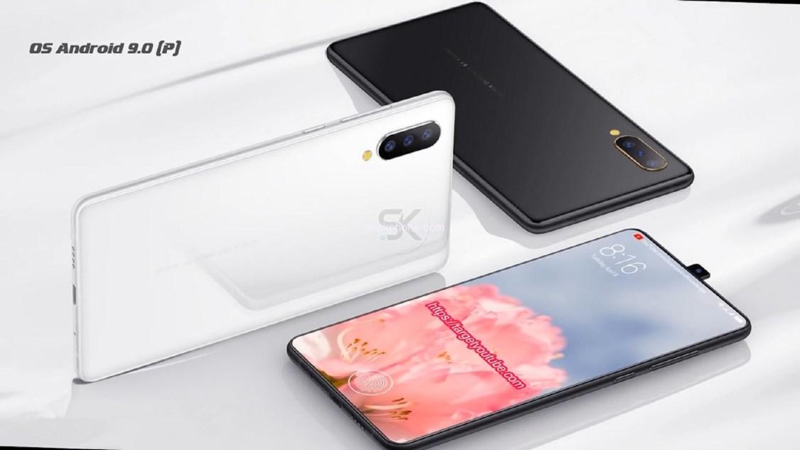 Konceptvideo på Xiaomi Mi Mix 3