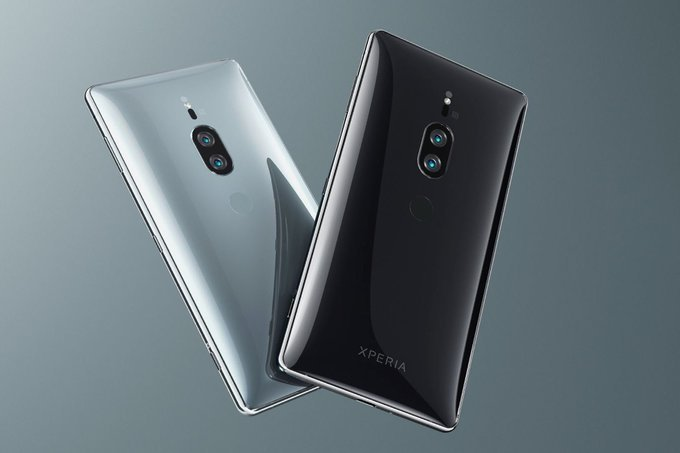 Xperia XZ2 Premium dyker upp på Sony Sveriges hemsida!
