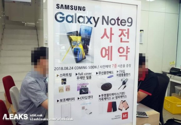 Läcka bekräftar: då blir Samsung Galaxy Note 9 tillgänglig för köp
