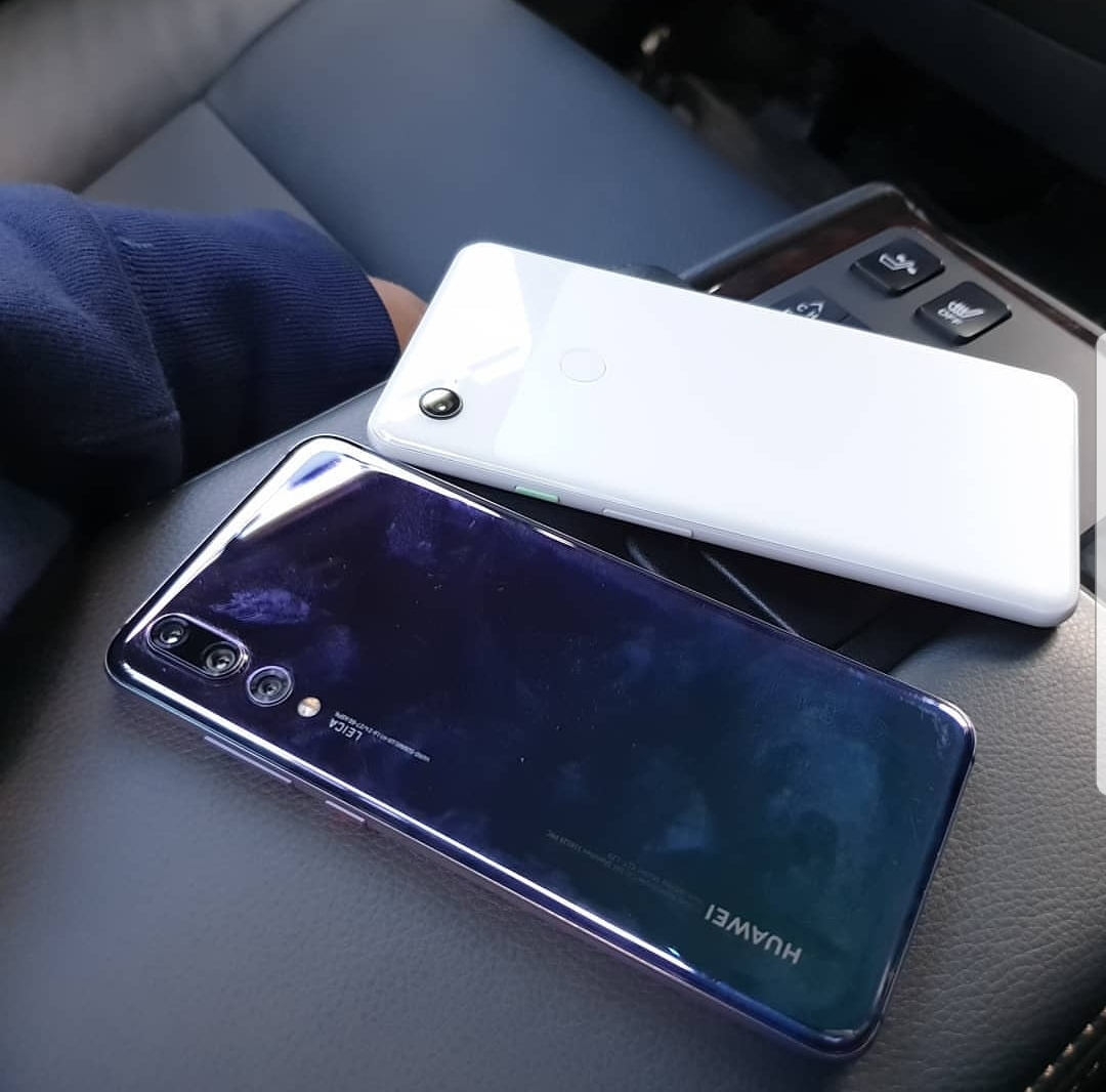 Pixel 3 XL jämförs med Huawei P20 Pro