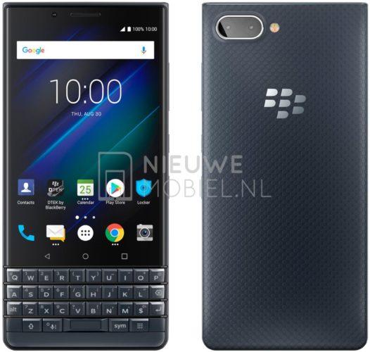 Pressbild på BlackBerry KEY2 LE