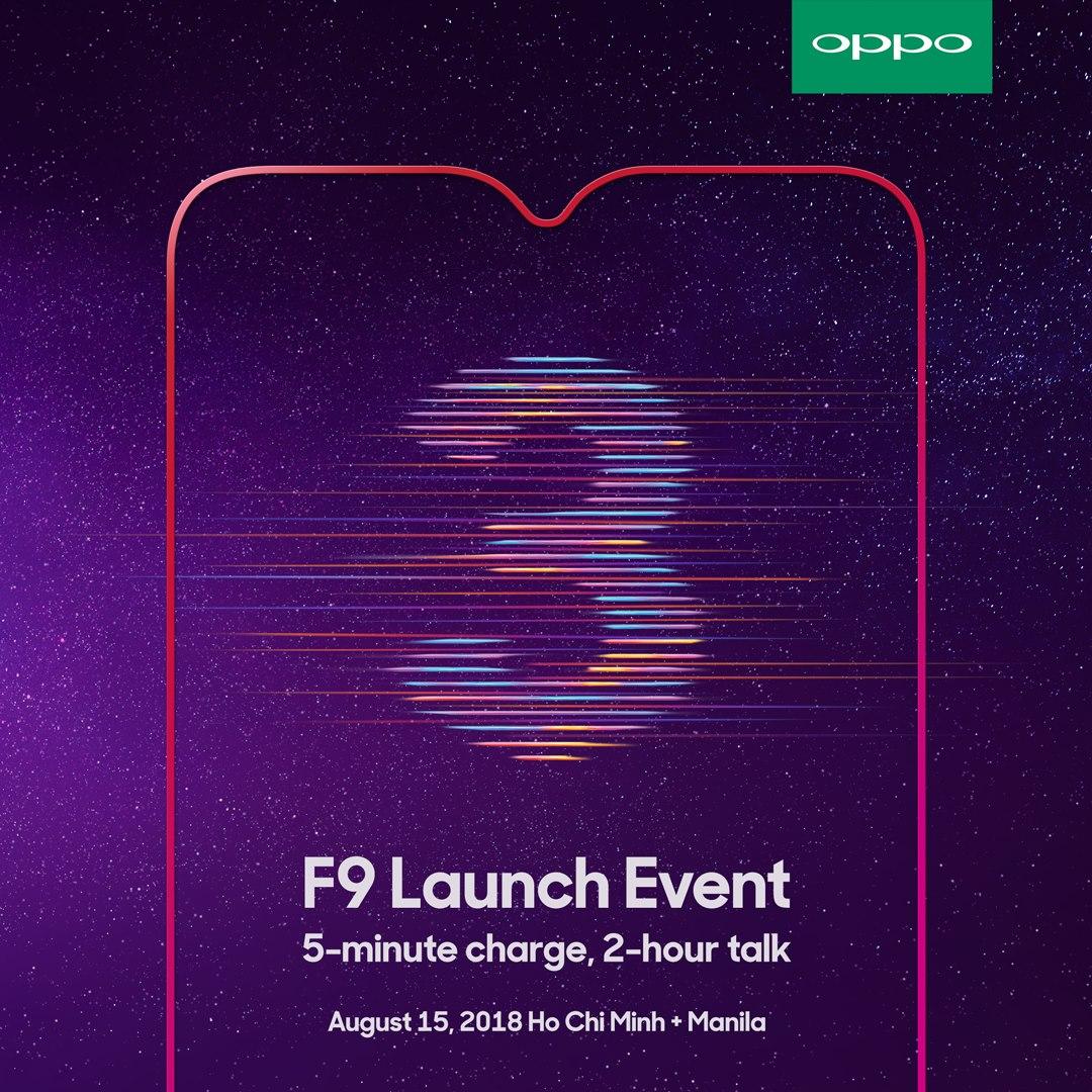 OPPO F9 blir tillgänglig samma dag som den presenteras