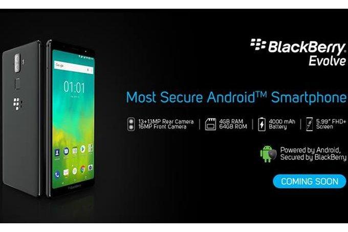 BlackBerry presenterar Evolve och Evolve X