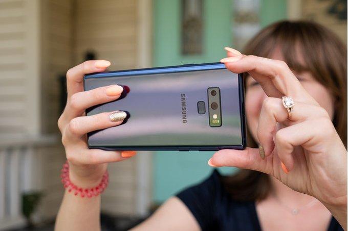 Samsung uppdaterar kameramjukvaran i Galaxy Note 9