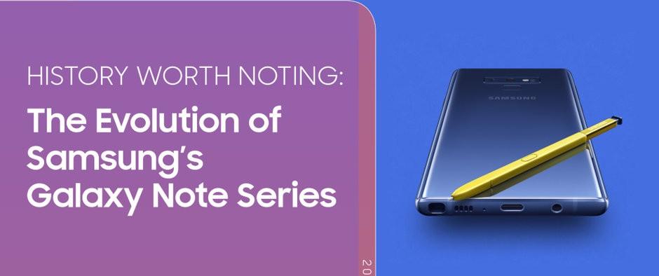 Samsung firar Galaxy Note-historia!
