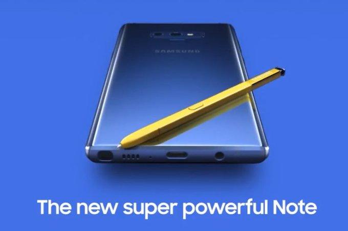 Samsung Galaxy Note 9 får dedikerad kameraknapp