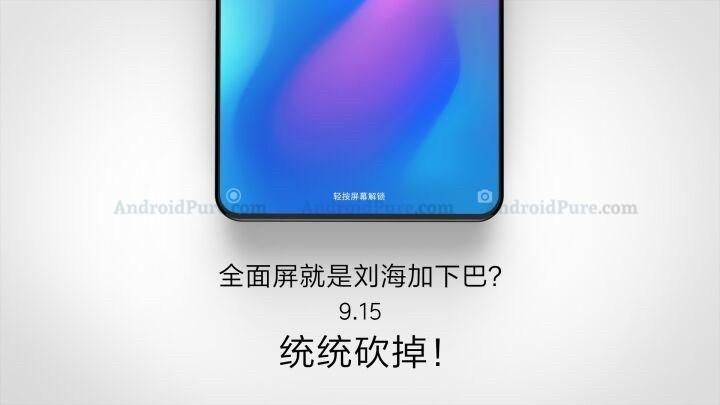 Xiaomi Mi Mix 3 kan ha påträffats i det vilda