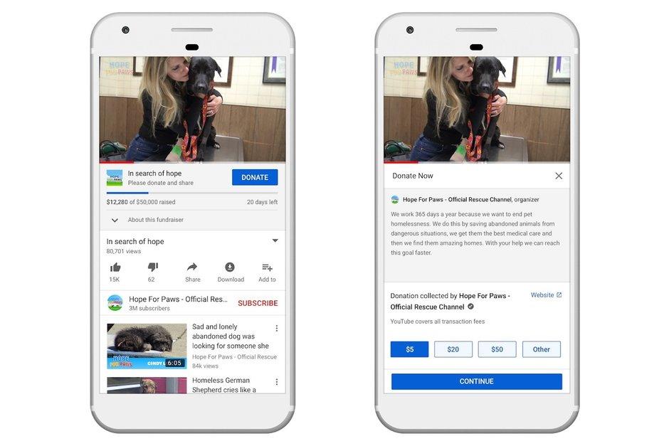 Google skickar ut ny uppdatering till YouTube med en nyhet