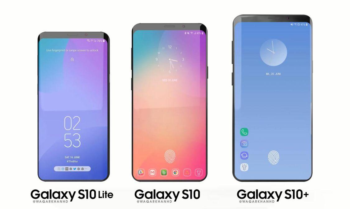 Rapport: Samsung Galaxy S10 liknar S9