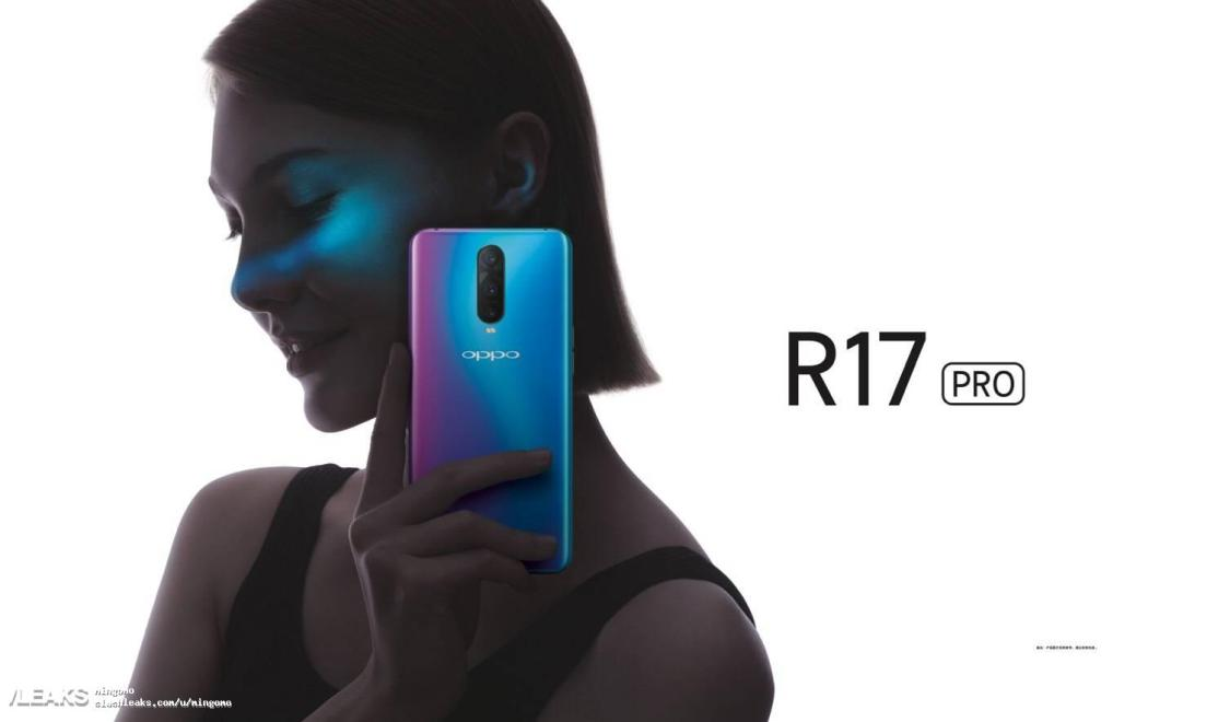 OPPO R17 Pro ser ut att få Snapdragon 710