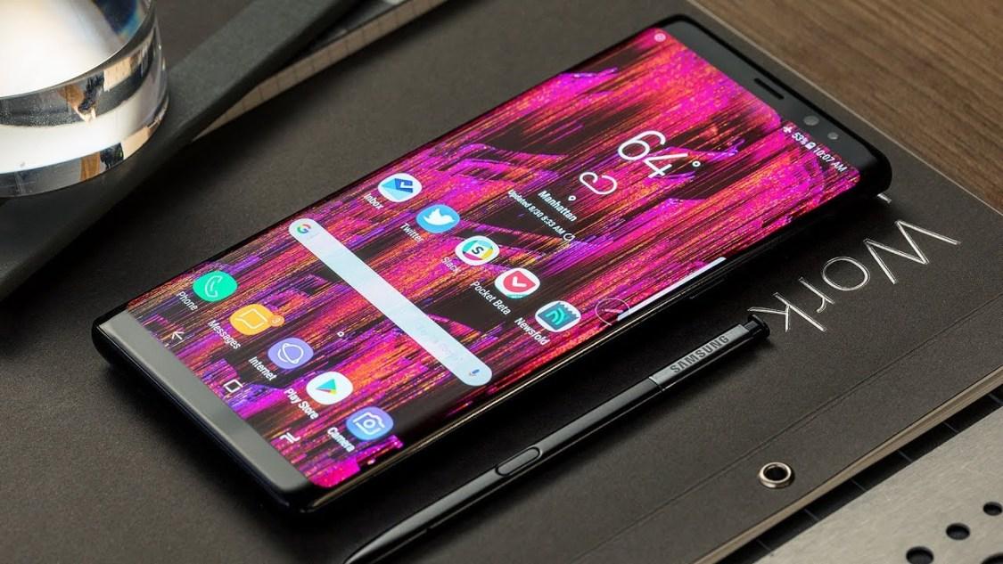 Samsung Galaxy Note 8 erhåller säkerhetsuppdateringen för augusti-månad