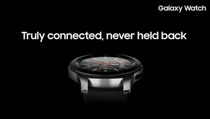 Samsung presenterar smartklockan Galaxy Watch med inbyggd LTE
