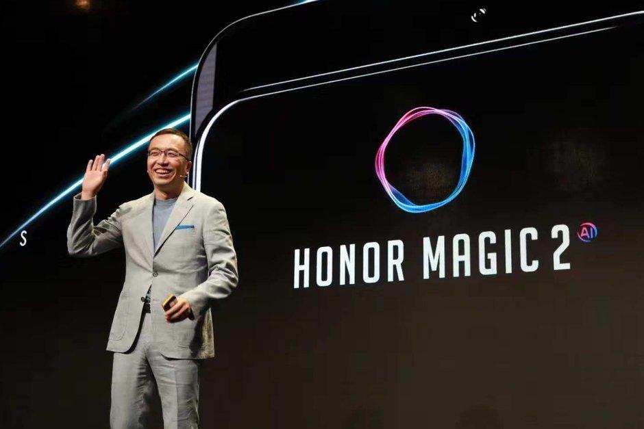 Huawei Honor Magic 2 dyker upp i det vilda