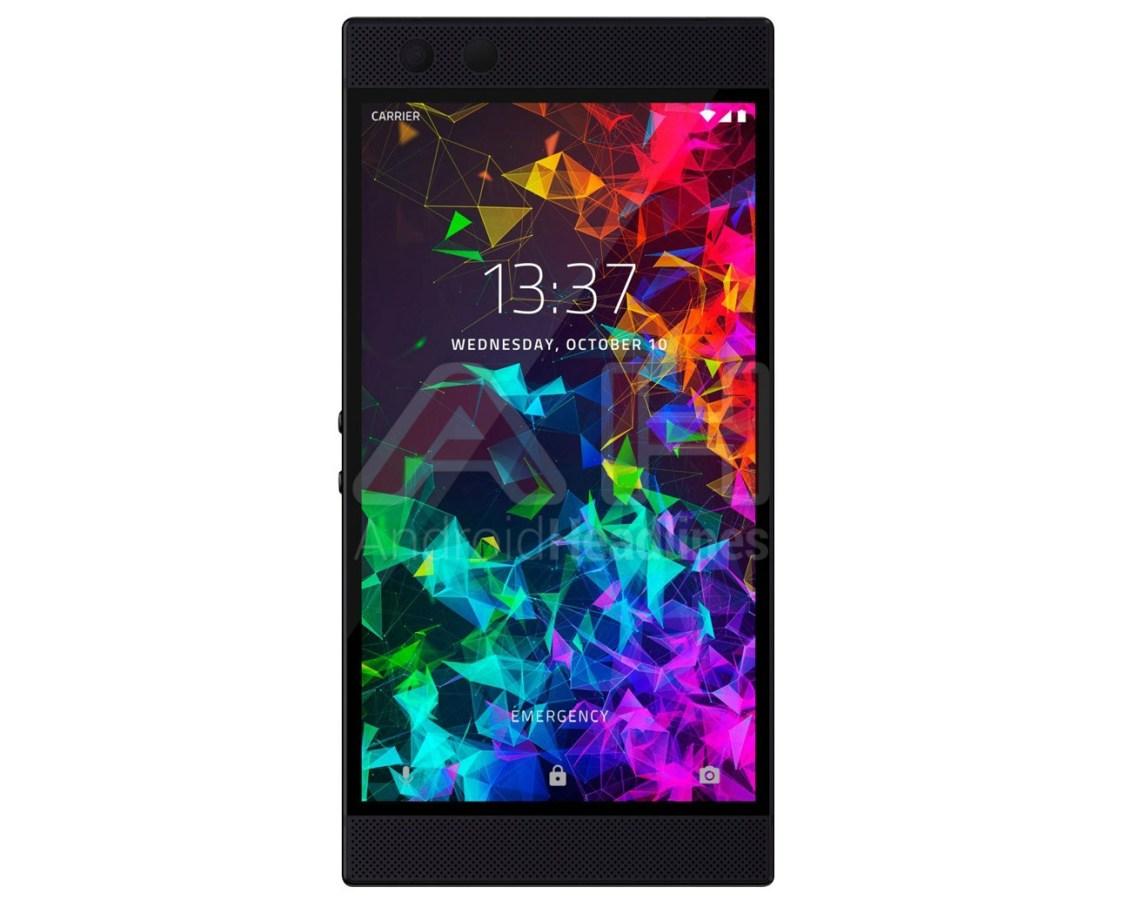 Ny bild visar Razer Phone 2