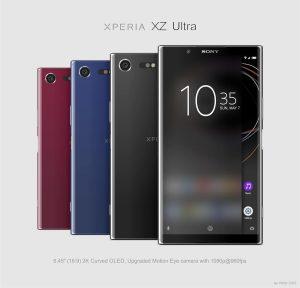 Kan det här var Xperia XZ Ultra?