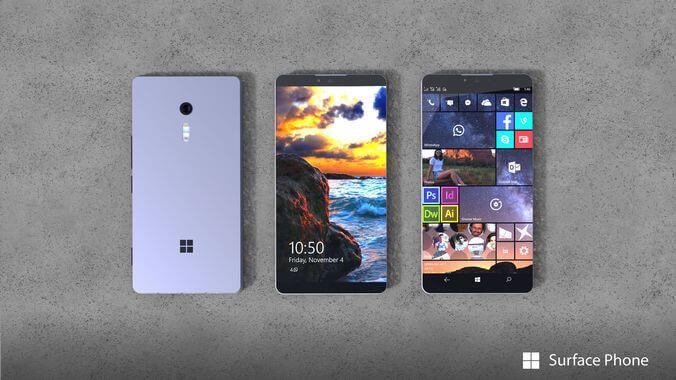 Ingen Surface Phone den 2 oktober