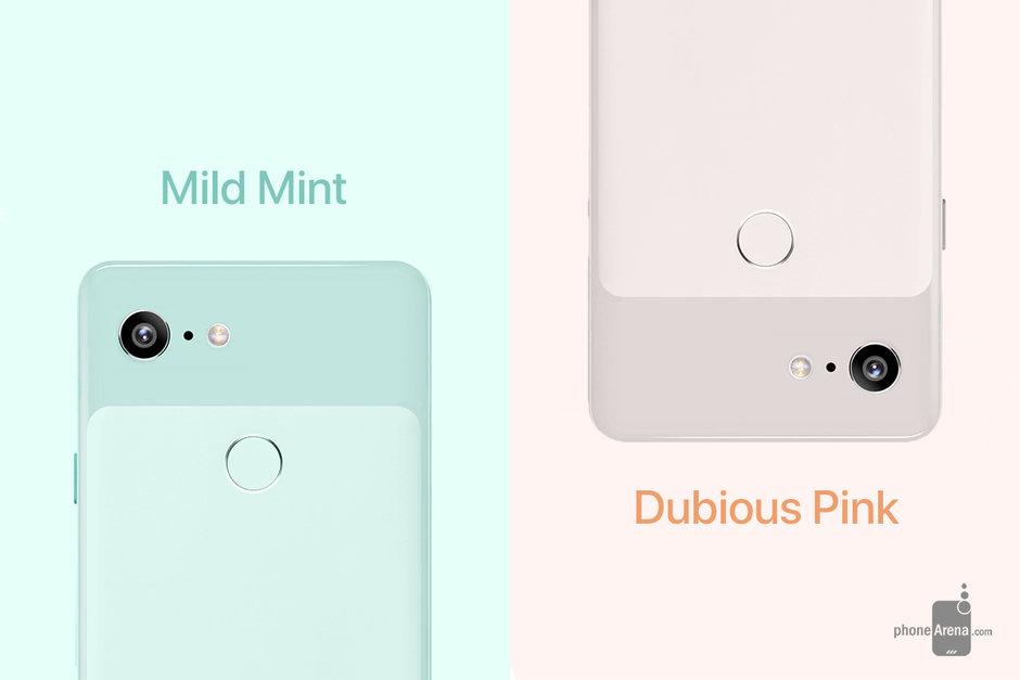 Så här ser Pixel 3 ut i de nya färgerna