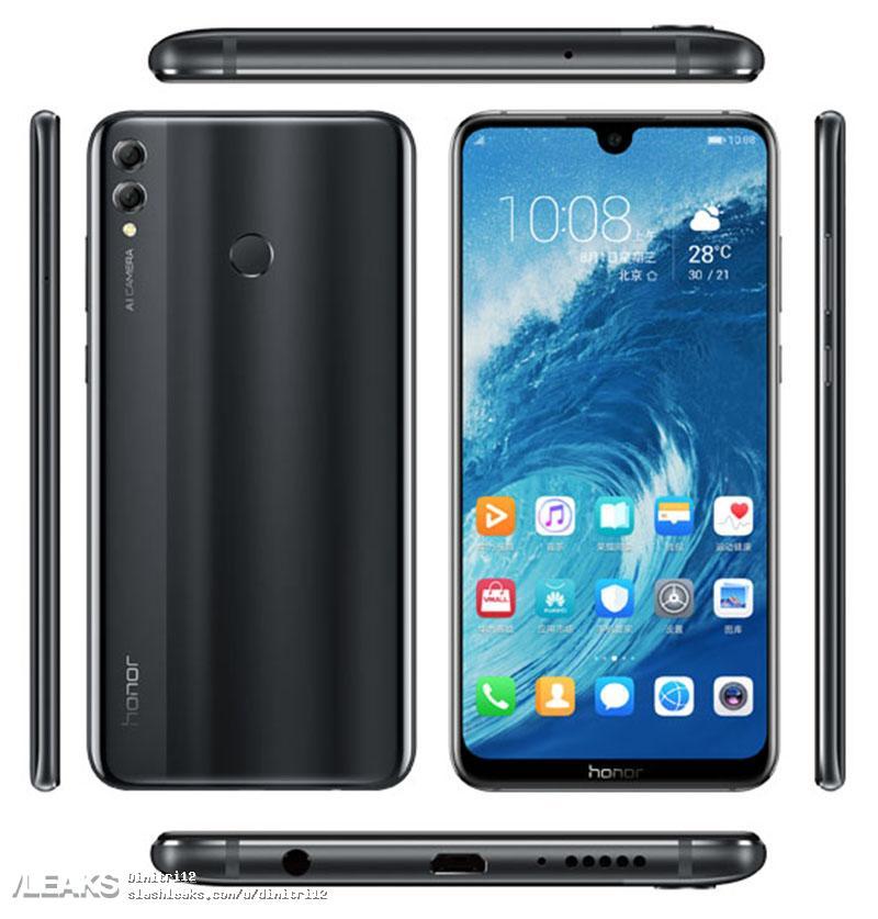 Här är  Huawei Honor 8X Max med gigantiskt batteri