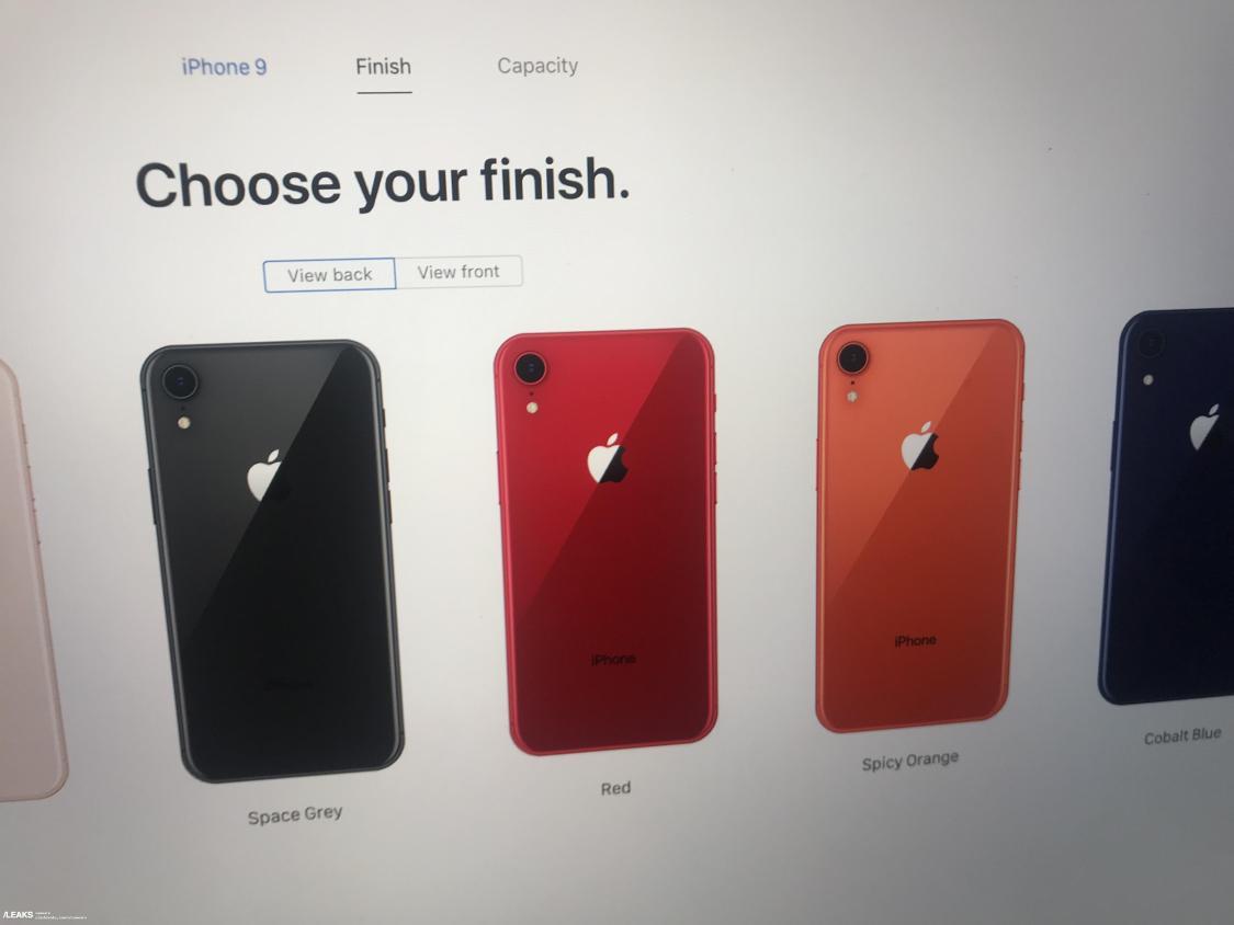Är det här iPhone 9?