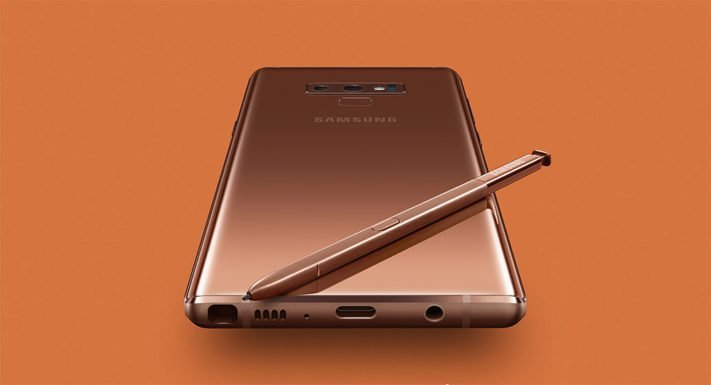 Samsung Galaxy Note 9 får redan septembers säkerhetsuppdatering