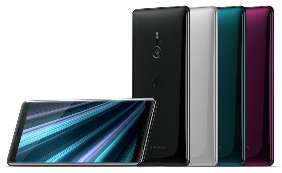 Xperia XZ3 är Sonys första moderna smartphone