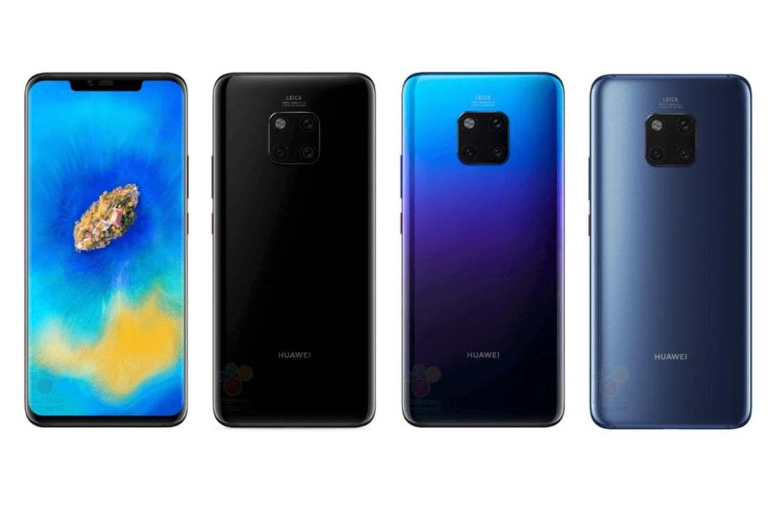 Ny bild dyker upp på Huawei Mate 20 Pro