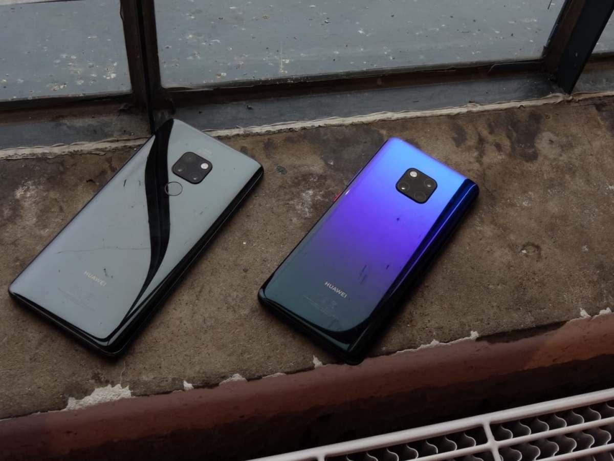 Jag har tagit en titt på Huawei Mate 20 och Mate 20 Pro!