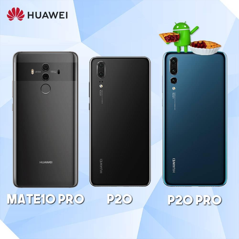Nu kan du beta-testa Android 9 Pie på Huawei P20, P20 Pro och Mate 10 Pro