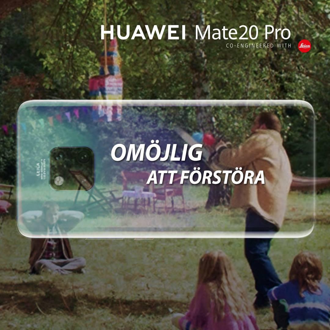 """Huawei Mate 20 Pro är """"omöjlig att förstöra"""""""