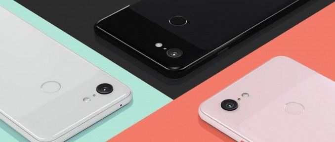 Pixel 3 och 3 XL använde en ny sensor från Sony för de främre kamerorna