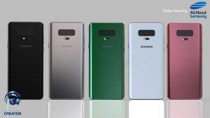 Är det här Samsung Galaxy S10 i samtliga kulörer?