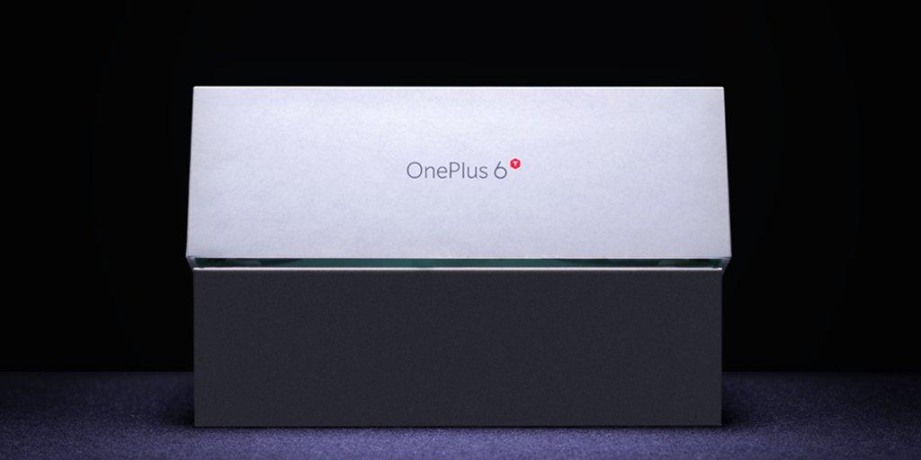 Här är lådan till OnePlus 6T