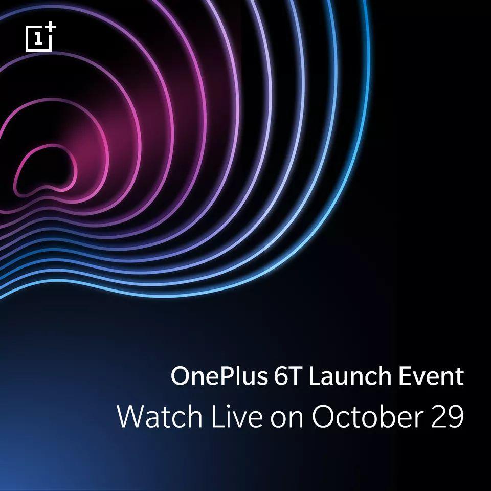Du kommer kunna ta del av OnePlus 6T-eventet från TV-soffan