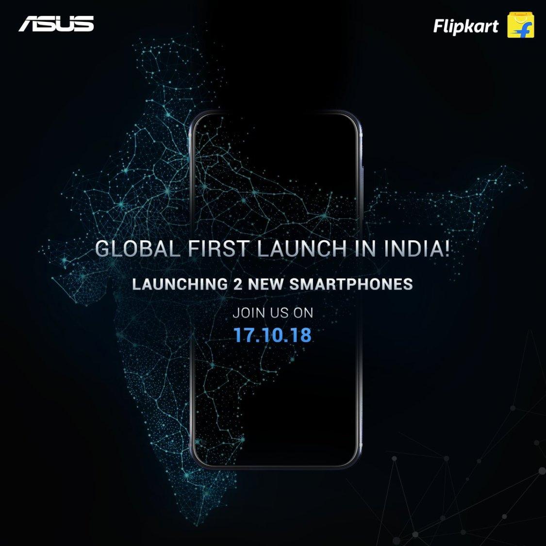 ASUS presenterar två nya smartphones 17 oktober