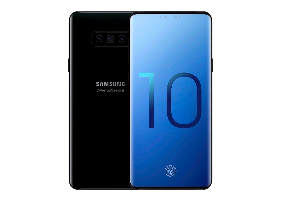 Ser Samsung Galaxy S10 ut såhär?