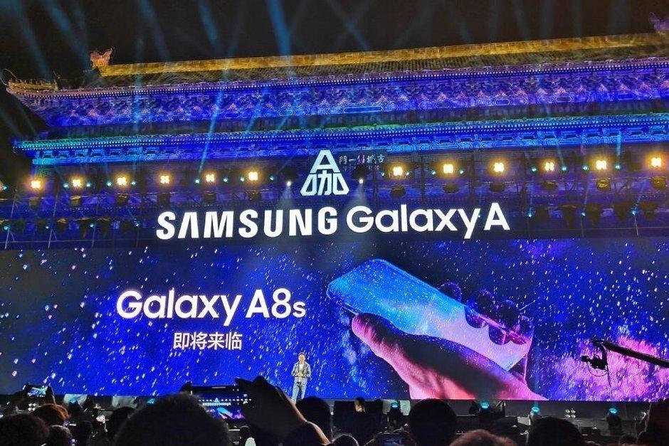 OnLeaks: Samsung Galaxy A8s kommer inte få någon fingeravtrycksläsare under displayen