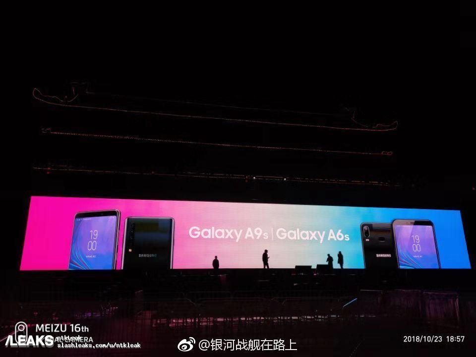 Samsung Galaxy A6s och A9s påträffas