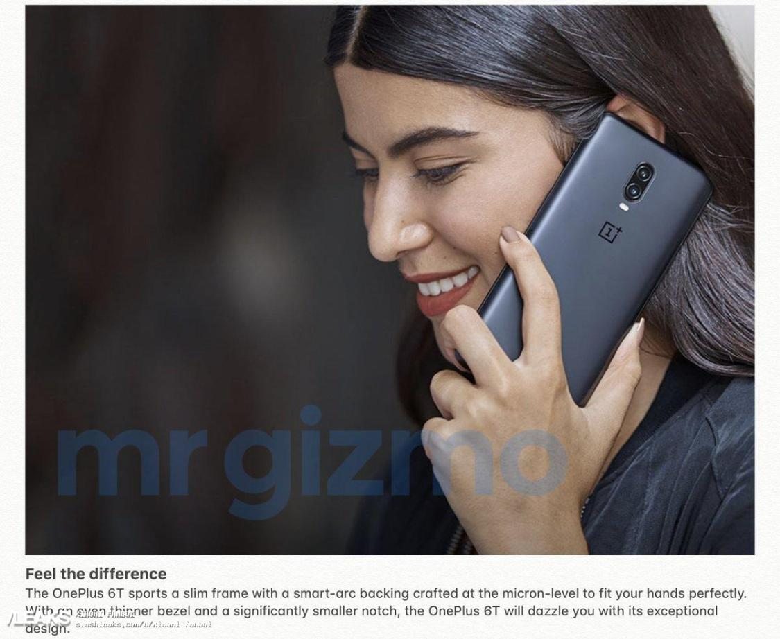 OnePlus 6T kommer i mattsvart
