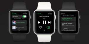 Spotify släpper egen app till Apple Watch