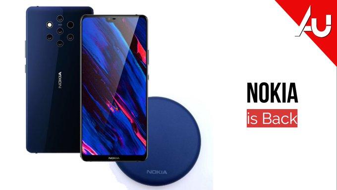 Bild indikerar att Nokia 9 kommer få trådlös laddning