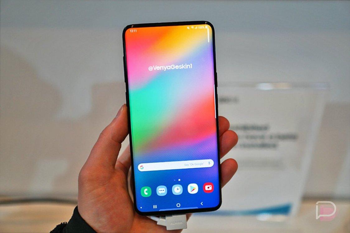 Kommer Samsung Galaxy S10 se ut såhär?
