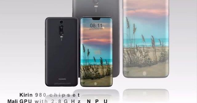 Kommer Huawei P30 Pro se ut så här?