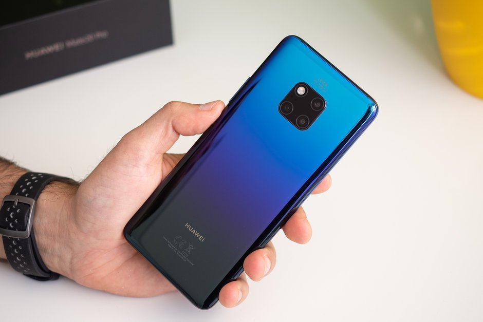 Huawei Mate 20 Pro har display-problem