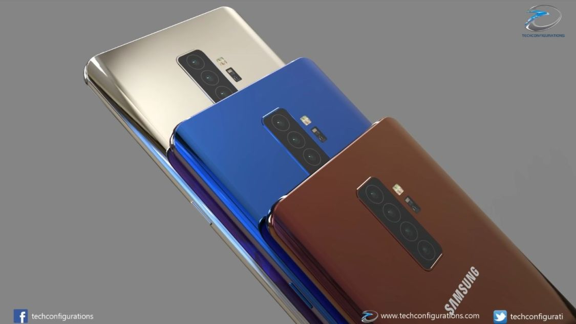 Ny bild visar att Samsung Galaxy S10+ kan komma att få fyra kameror på baksidan