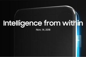 Processorn till Samsung Galaxy S10 presenteras 14 november