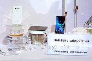 Samsung offentliggör vit Galaxy Note 9
